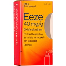 Eeze - Kutan spray, gel 40 mg/g 12,5 gram