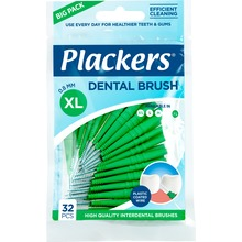 Plackers Dental Brush - Mellanrumsborstar. 0,8 mm, 32 st