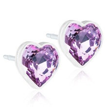Blomdahl - MP Heart Light Amethyst 6mm par