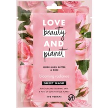 Love Beauty and Planet sheet mask - Murumuru-smör och rosor