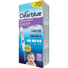 Clearblue Ägglossningstest - Digitalt ägglossningstest. 10 st.