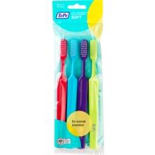 TePe Classic mjuk tandborste - Rak tandborste med rektangulärt borsthuvud.  4 st e98bd95bfd732