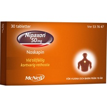 Nipaxon - Tablett 50 mg 30 tablett(er)