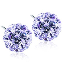 Blomdahl - NT Crystal Ball 6mm Violet par