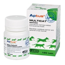 Aptus - Multicat tabletter, 120 st