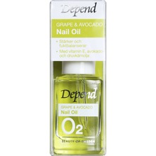 Depend O2 Grape & Avocado Nail oil - Vårdande nagelolja, 10 ml
