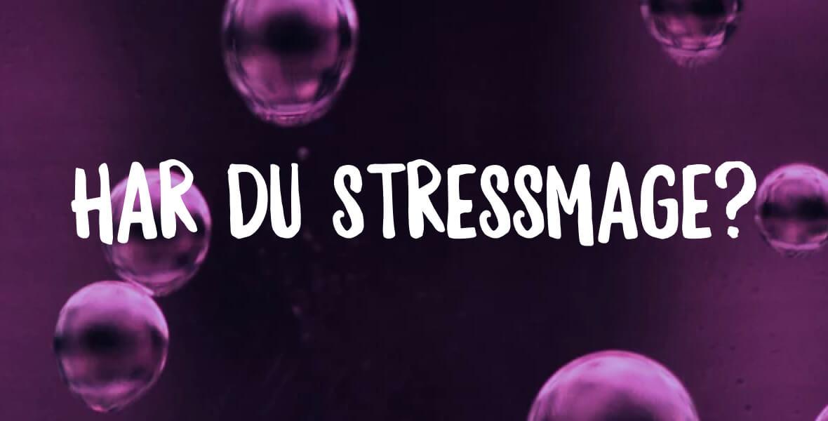 medicin mot stressmage