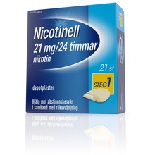 Nicotinell - Depotplåster, 21 mg/24 timmar, 21 st
