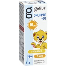 Gefilus - Droppar +D3 7.5 ML