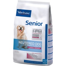 Virbac Veterinary HPM Adult Neutered Dog  - Foder till äldre kastrerade L/M hundar 7 kg