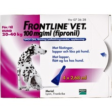 Frontline vet. Vet - Spot-on, lösning 100 mg/ml 4 x 2,68 milliliter