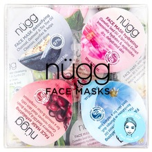 nügg - Face Mask Kit - Clean 4x10 ml