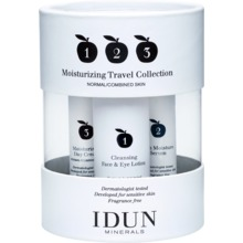 IDUN MINERALS - Moisturizing Travel Collection 1 st