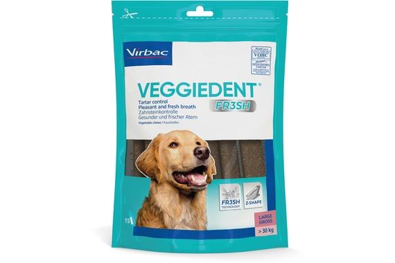 VeggieDent FR3SH Tuggpinnar Large 490 g
