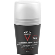 Vichy Homme 72H deo anti-trace - Deodorant. 50 ml