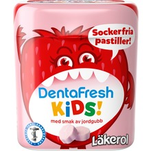 Läkerol - DentraFresh Kids Strawberry 55g