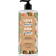 Love Beauty and Planet duschgel - Sheasmör och sandelträ. 500 ml
