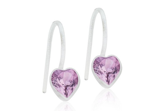 MP Pend Heart Light Amethyst 4/6mm