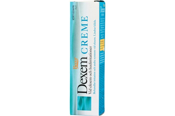 Dexem hudkräm Mot eksem och hudirritation. 30 g