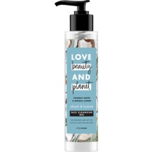 Love Beauty and Planet ansiktstvätt - Kokosvatten. Vegansk. 125 ml