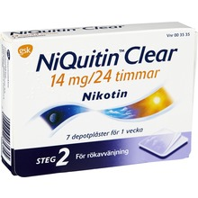 NiQuitin ClearDepotplåster