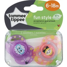 Köp Tommee Tippee CTN TT CTN Sugnapp Fun Style 6-18mån 2st på ... 73cb62e310a1f