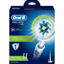 Oral-B - Pro 670 CrossAction eltandborste