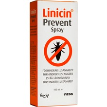 Linicin Prevent - Spray mot löss 100ml