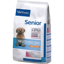 Virbac Veterinary HPM Senior Neutered Dog Small & Toy - Foder till kastrerade äldre S hundar 7 kg