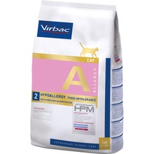 Virbac Veterinary HPM Allergy Cat Salmon - Foder till katter  3 KG