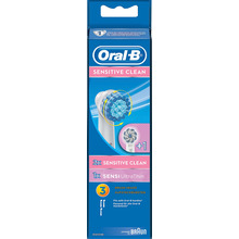 Oral-B Sensitive Clean - Refill borsthuvuden. 3 st