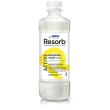 Resorb Active Lemon Lime - Kolhydrat-elektrolytdryck. 500 ml