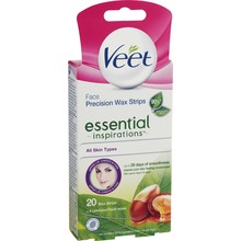 Veet Essentials - Wax Strips Ansikte 20 st
