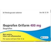 ibuprofen orifarm eller ipren