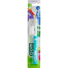 GUM - Kids Monster Toothbrush 3-6 1 st