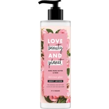Love Beauty and Planet hudlotion - Murumuru-smör och bulgarisk ros. 400 ml
