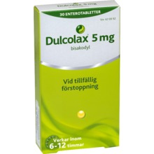 Dulcolax - Enterotablett 5 mg 30 tablett(er)