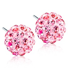 Blomdahl - NT Crystal Ball 8mm Light Rose par