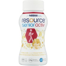 RESOURCE - Näringsdryck Senior Activ Gräddvani 4x200ml