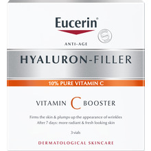 Eucerin Hyaluron-Filler Vitamin C Booster - Serum. 3 x 8 ml.