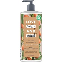 Love Beauty and Planet rengörande balsam - Sheasmör och sandelträ. 500 ml