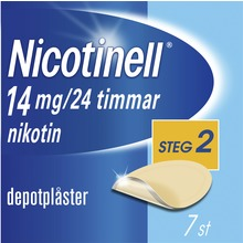 Nicotinell - Depotplåster 14 mg/24 timmar, 7 st