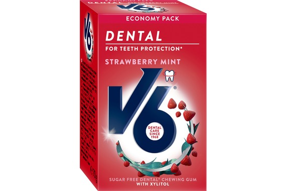 Dental Strawberry Mint tuggummi