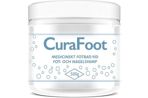 CuraFoot Medicinskt fotbad 500g
