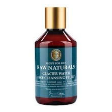 Raw Naturals  2,5 cm x 7,6 cm - Glacier Water Face Cleansing Fluid 250 ml