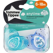 Tommee Tippee - CTN Sugnapp Any Time 6-18mån 2st