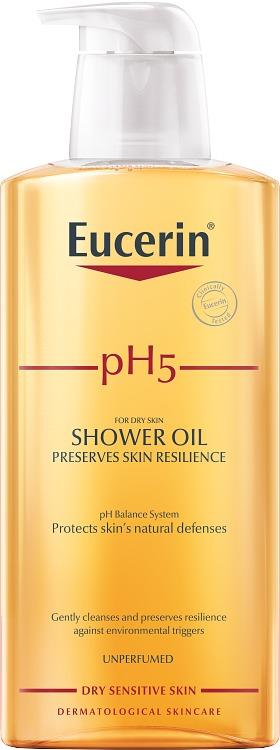 Eucerin pH5 Shower Oil Oparfymerad 400 ml - Duscholja