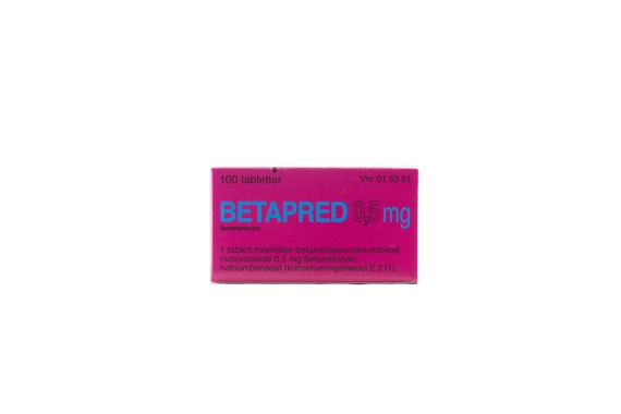 Betapred - Tablett 0,5 mg Betametason 100 tablett(er)