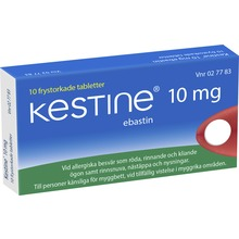 Kestine - Frystorkad tablett 10 mg Ebastin 10 tablett(er)