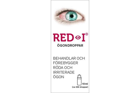 RED-I Ögondroppar 10ml